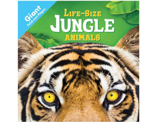 Life-Size Jungle Animals book cover