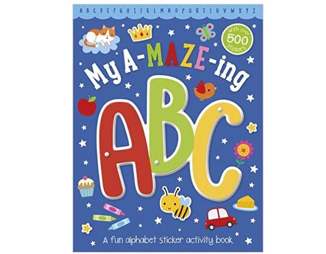 My a maze ing ABC activity book