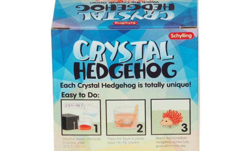 CRYSTAL GROWING HEDGEHOG KIT