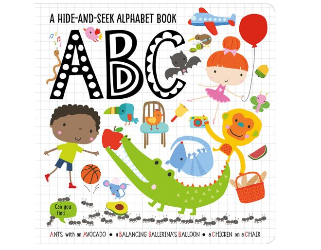 abc hide and seek for toddlers book