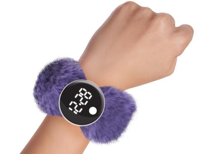 watchitude digital slap watch grape jelly