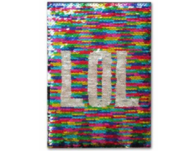 Shimmer Flip Journal lol