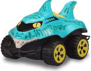 Amphibious remote control shark car