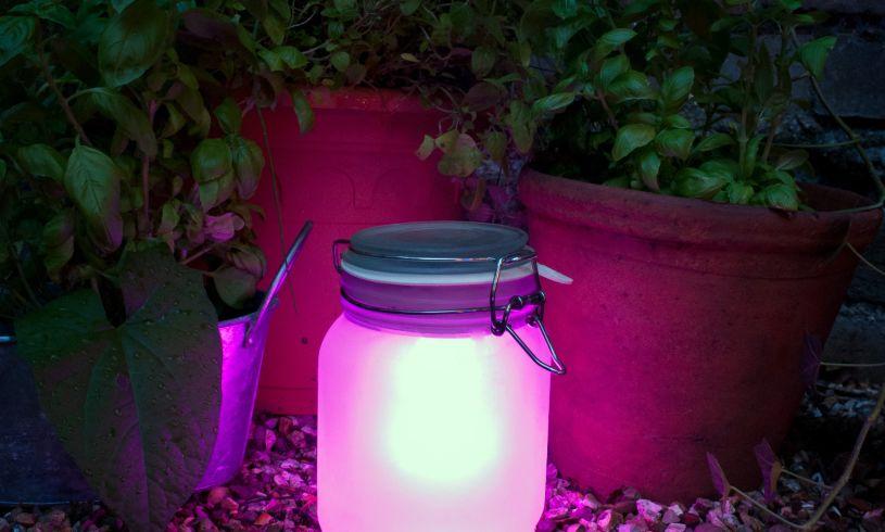 Suck UK Sun Jar - Solar Lamp