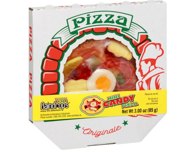 Candy Pizza Box