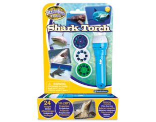 Shark Flashlight and Projector torch for kids