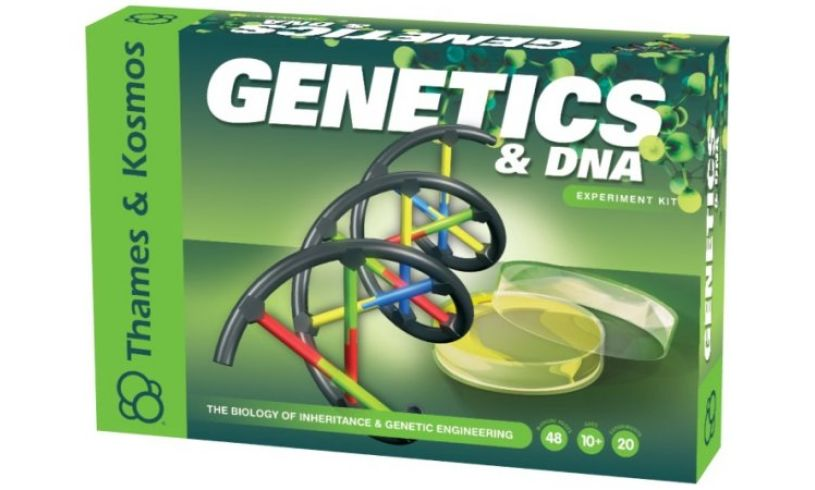 Genetics and DNA Experiment Kit Packaging