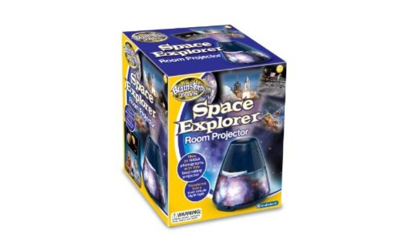Space Explorer Room Projector Packaging