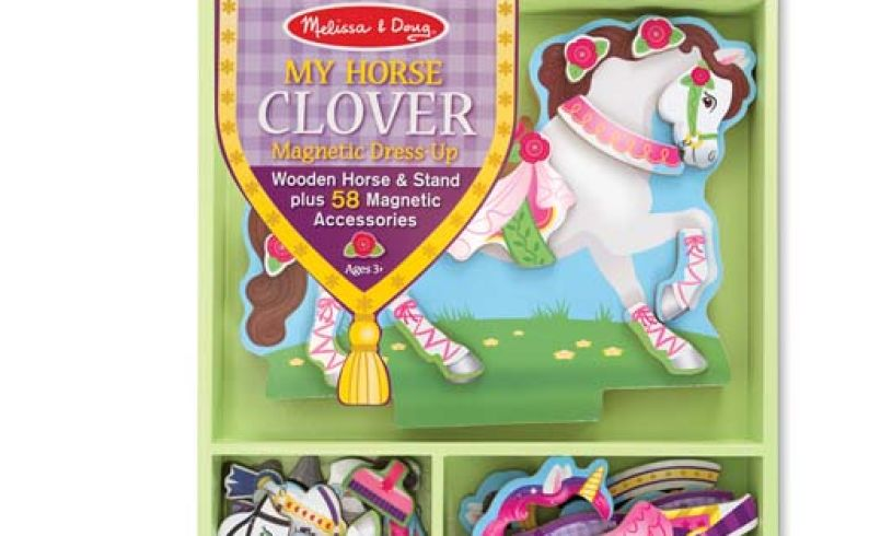 My Horse Clover Front of Box