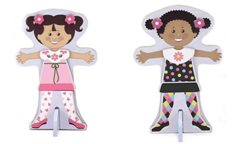 Magnetic Dress Up Dolls