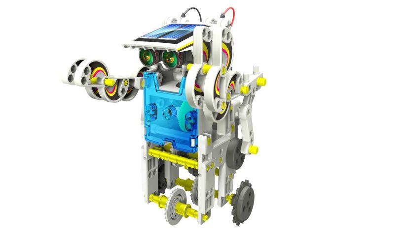 14 in 1 Solar Robot Kit - Robot
