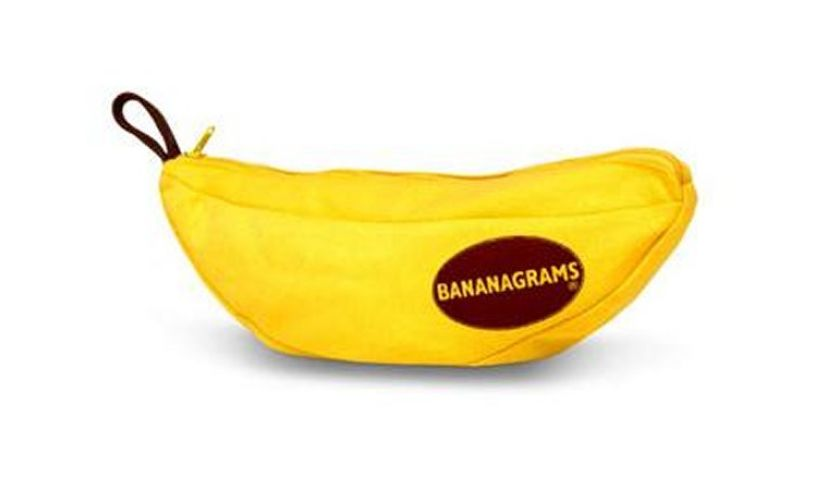 Bananagrams Packaging