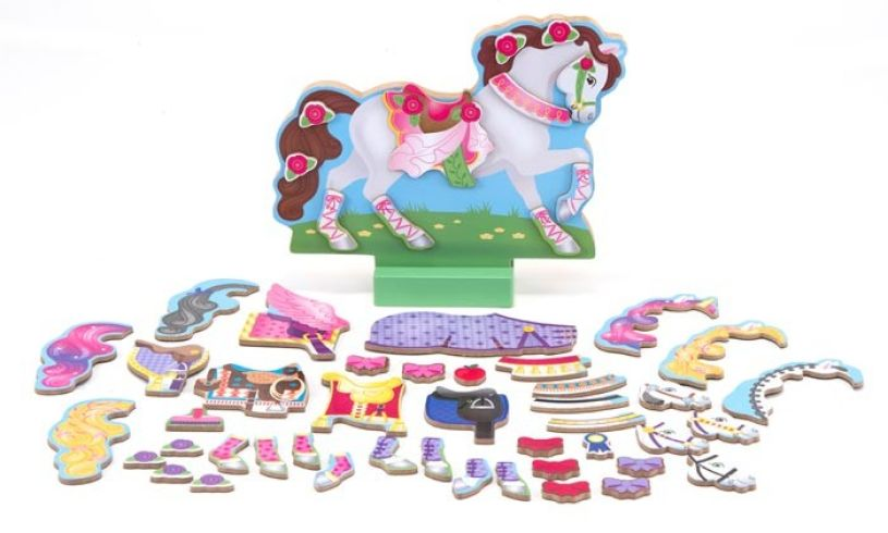 My Horse Clover - Magnetic Dress Up